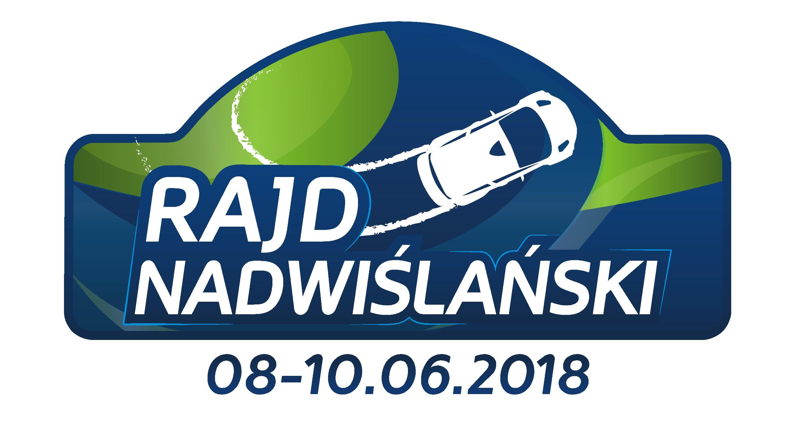 Logo (+data) Rajd Nadwiślański 2018